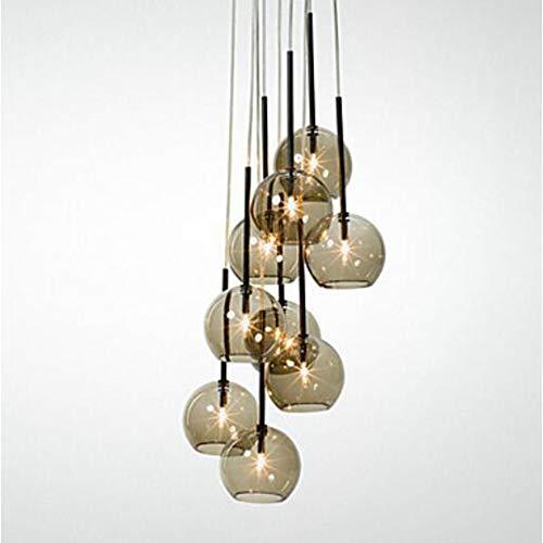 - SISHUINIANHUA 8-Light Pendant Light Uplight - Mini Style, 110-120V / 220-240V Bulb Included / G9 / 15-20㎡,220/240V