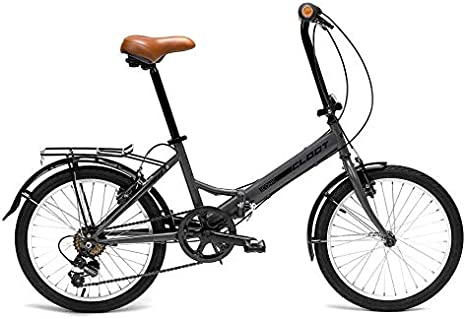 CLOOT Bicicleta Plegable Iconic Shimano 6V Gris: Amazon.es ...