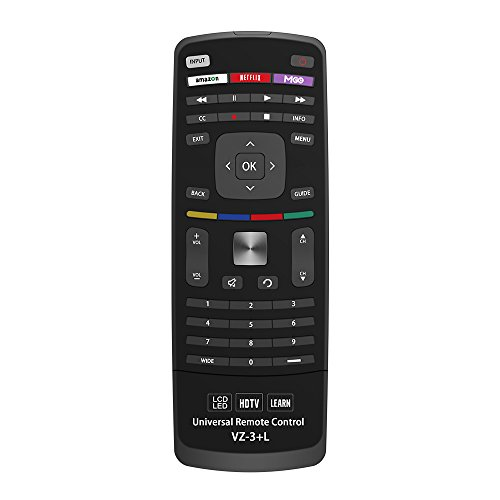 New Vizio Universal Remote Control for All VIZIO BRAND TV, Smart TV - 1 Year Warranty (Best Universal Remote Controls 2019)