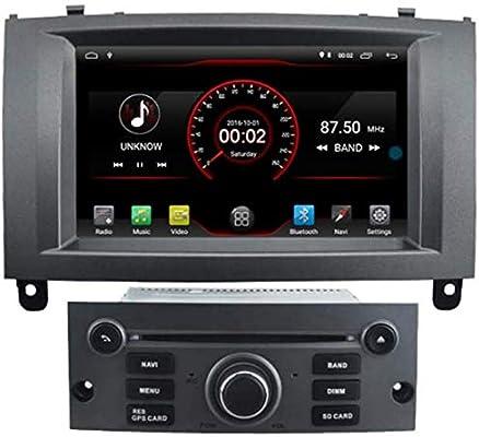 Wi-Fi Multimedia para 2004-2010 Equipo de música Ford Peugeot Android 9.1 GPS del Coche de Control de DVD Navi Radio 407 de la Plata Volante: Amazon.es: Electrónica