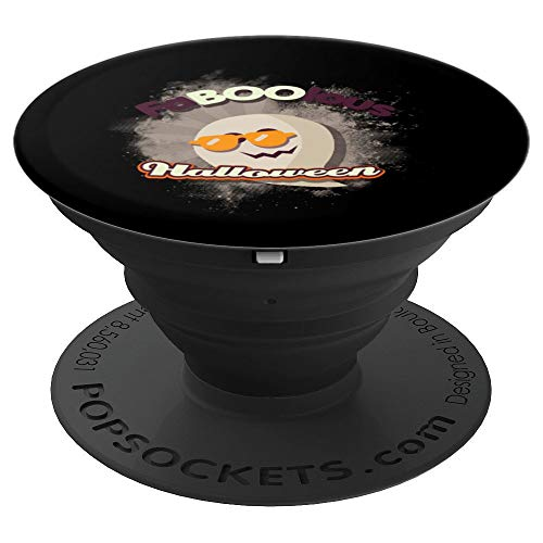 Faboolous Halloween Funny Grip Lovely Ghost Boo Gift - PopSockets Grip and Stand for Phones and Tablets -