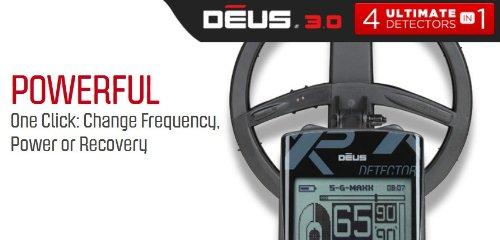 Amazon.com : XP DEUS Metal Detector with FX-02 Wired Backphone Heaphones + Remote + 9
