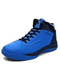 QZbeita Men's Basketball Shoe High Top Breathable Athletic Running Sports Sneakers for Boy