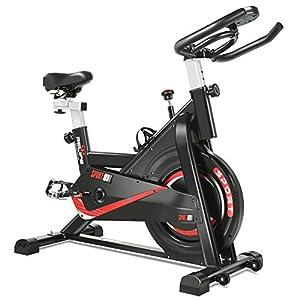 RELIFE REBUILD YOUR LIFE Vélo d'appartement Fitness Exercice Bikes Intérieur Cardio Entraînement Silencieux Réglable Sport Maison accessoires de fitness [tag]