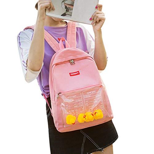 Creazy Cute Backpack, Child Baby Girls Boys Kids Duck Animal Student Toddler School Bag ()