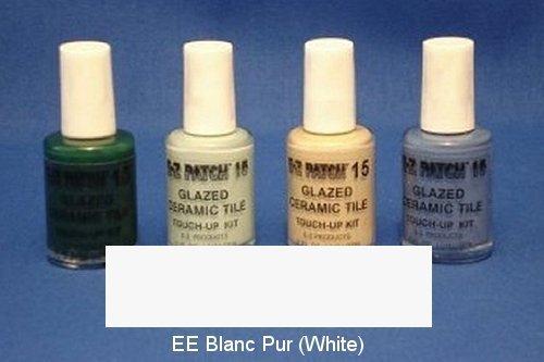 Ceramic Blanc (EZ Products EZP-910 GLAZED CERAMIC TILE TOUCH-UP 15-EE BLANC PUR - WHITE)