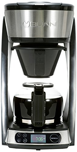 BUNN HB Heat N Brew Programmable Coffee Maker, 10 Cup, Stainless Steel Review