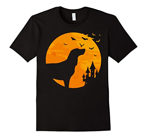 Tan Mom Halloween Costume (Mens Black and Tan Coonhound Tee Scary Halloween T Shirt Large Black)