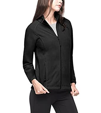 Lapasa Women's Benton Springs Full-Zip Fleece Jacket L19 (XS, Black)