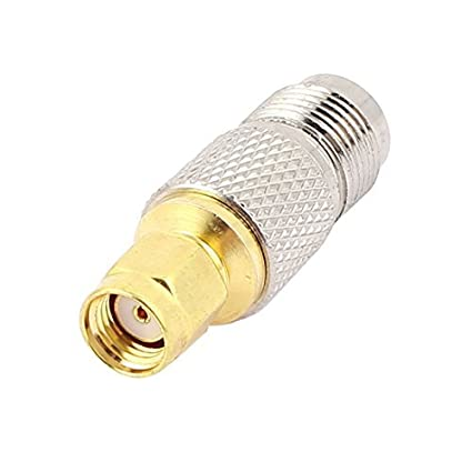 eDealMax rosca Macho TNC de SMA hembra M/F Adaptador RF coaxial conector