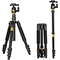 Hawell Professional Portable Magnesium Aluminium Alloy Travel Tripod Monopod with Ball Head Universal For DSLR SLR Camera Max Height: 55.9, Max Load: 8kg