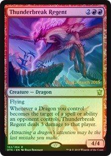 Magic: the Gathering - Thunderbreak Regent (162/264) - Prerelease & Release Promos - Foil
