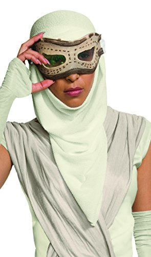 Halloween Masks For Sale (Star Wars: The Force Awakens Adult Rey Eye Mask With Hood)