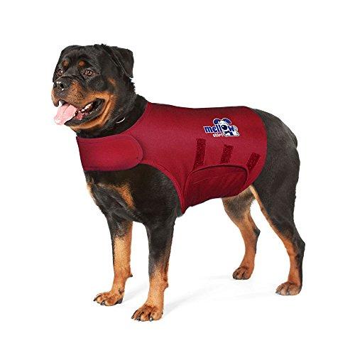Mellow Shirt Dog Anxiety Calming Wrap, X-Large, Sangria -