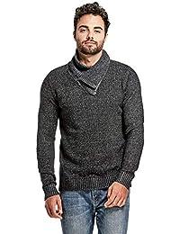 Guess Factory Men's Clay Shawl Zip Sweater