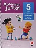 capa de Aprender Juntos. Geografia - 5º Ano - Base Nacional Comum Curricular
