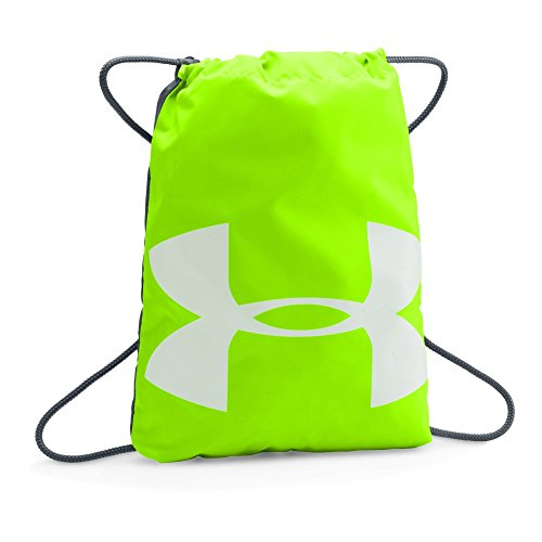 Under Armour Ozsee Sackpack, Hyper Green /Stealth Gray, One Size