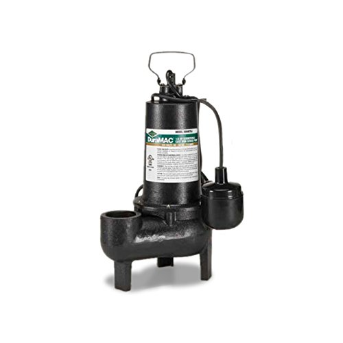 AY McDonald 6192-114 5050CTSJ Cast Iron Tethered Switch Sewage Ejector Pump, 1/2 HP by AY McDonald