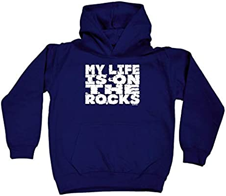 Rock Climbing Childrens Sweatshirt Funny Jumper Rock Climbing When There Are