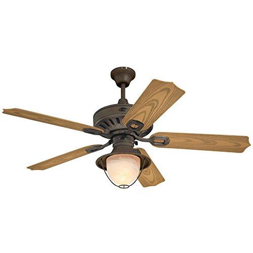 52 yellow ceiling fan - 1