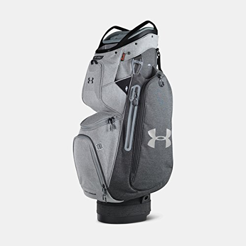 目覚める見せますバージン[UNDER ARMOUR] アンダーアーマー Men's UA Storm Armada Sunbrella Cart Bag GRAPHITE MEDIUM HEATHER [並行輸入品]