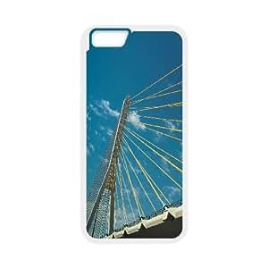Bridge 6 IPhone 6 Plus Cases, Case for Iphone 6 Plus Cheap Fashion Evekiss - White