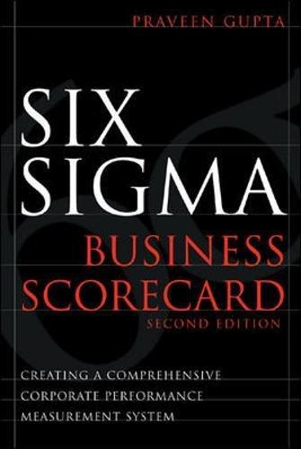 Download Six Sigma Business Scorecard pdf