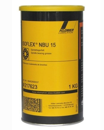 Kluber Isoflex NBU 15 High Speed Spindle Bearing Grease 1 KG Can