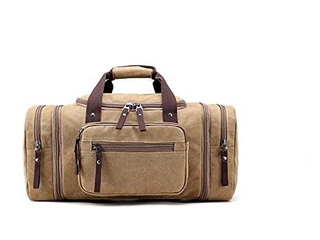 JxucTo Borsone sportivo da viaggio per borsa da palestra di grande capacità  all aperto Borsa da palestra per borsone da viaggio per uomo (kaki)   Amazon.it  ... 7f2c65aaa8c