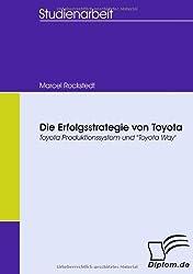 Die Erfolgsstrategie von Toyota. Toyota Produktionssystem und