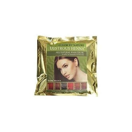 Lustrous Henna Dark Brown - 100 Grams
