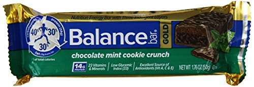 Balance Bar, Chocolate Mint Cookie Gold Bar, 1.76 oz