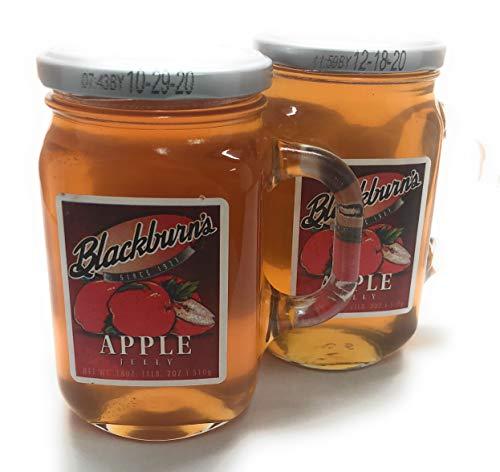 Blackburns Apple Jelly 18 oz, Pack of 2 (Smackers Apple Jelly)