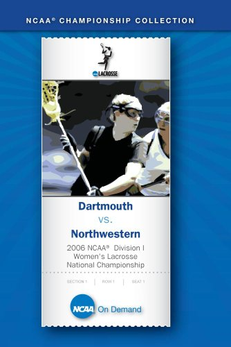 Women's Lacrosse National Championship - Dartmouth vs. Northwestern ()