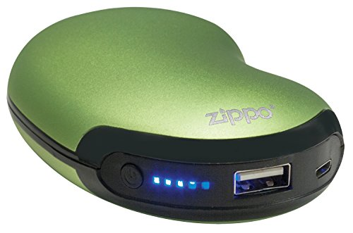 Zippo 6-Hour green Rechargeable Hand Warmer - Warmer Hour Pocket Warm Pack