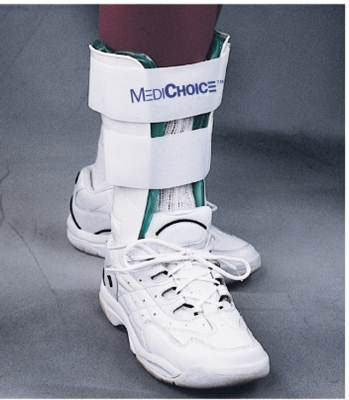 MediChoice Stirrup Ankle Brace, Standard Lightweight w/ Gel And Air Bladder, R or L Ankle, 10.5 Inch, 1314BRC3001 (Case of 12) by MediChoice