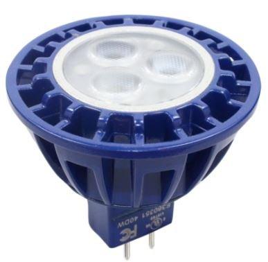 Brilliance MR16 LED Bulb 5 Watt, 3000K, 60 DEG, 8--25VAC, Dimmable, 0.8A Max Current