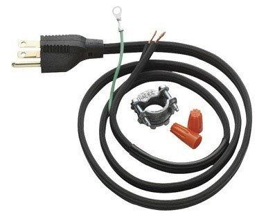 Insinkerator CRDOO/09008D Garbage Disposer Power Cord by In-Sink-Erator