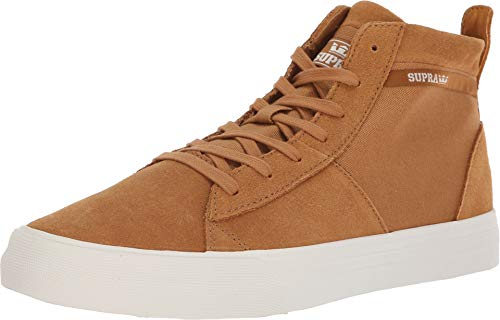 Supra Men's Stacks Mid Tan/Bone 11 D US