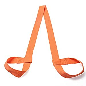 Yoga Mat Bag/Strap - for Most Yoga Mat (Orange)