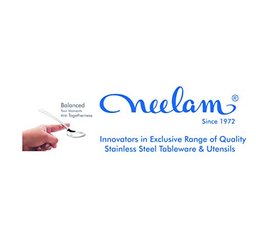 Neelam Stainless Steel Balanced Classic 6 pcs Tea Spoon Set