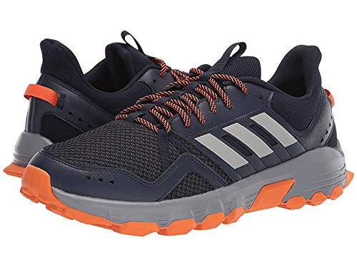 adidas Running Men's Rockadia Trail Legend Ink/Grey Two/Orange 10.5 D US