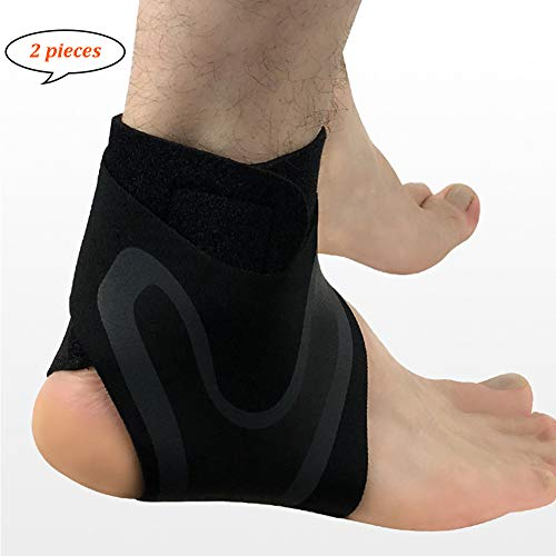 TZTED Ankle Compression Support Ankle Brace Ankle Guard for Sports Fitness Basketball Football Netball Running Volleyball for Men Women,S(35~38)