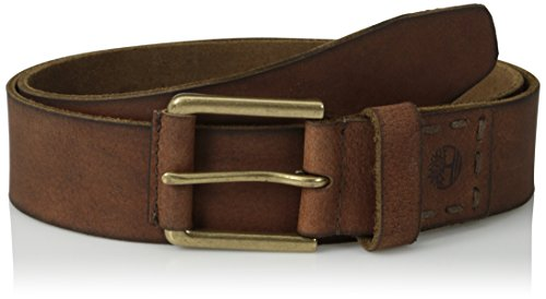 Timberland Men's 40Mm Pull Up Leather Belt, Brown, 40 - Size 40 Belt For Men