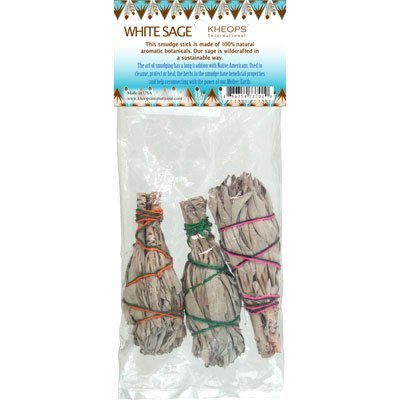 Smudge Sticks MIni White Sage (Pack of 3)