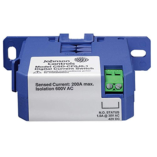 Johnson Controls CSD-CF0A0-1 Series CSD Digital Output Current Switch, Clamp/Split Core, Fixed Threshold, 0.15 amps