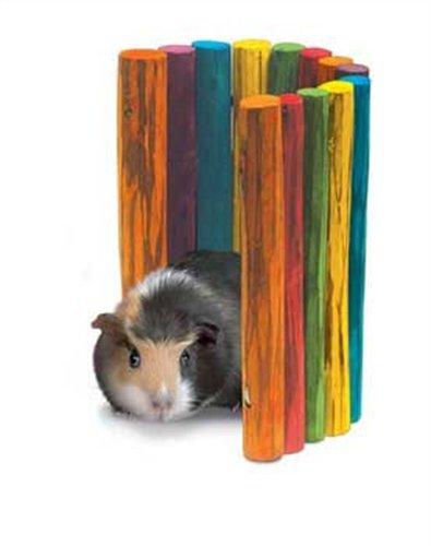Super Pet Guinea Pig Tropical Fiddle Sticks Hideout, Medium, My Pet Supplies
