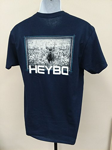 679aa138 Heybo Southern By Choice Deer in Cotton SS T-Shirt (Medium)