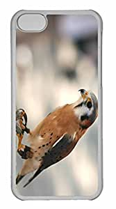 iPhone 5C Case, Personalized Custom Elite Falcon for iPhone 5C PC Clear Case