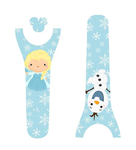 Disney MagicBand Decal Sticker Skins Frozen Inspired Elsa and Olaf Magic Band -